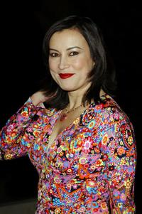 Jennifer Tilly at the party to introduce Designers Ilene Rosenzweig and Cynthia Rowley's