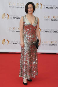 Meg Tilly at the Golden Nymph Awards during the 52nd Monte Carlo TV Festival.