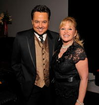 George Pennacchio and Charlene Tilton at the Hollywood Arts Council's 30th Anniversary Gala.