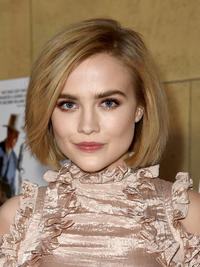 Maddie Hasson at the California premiere of