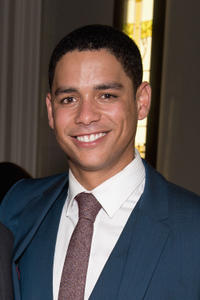 Charlie Barnett at the Chicago premiere of