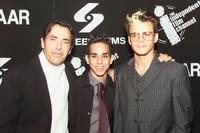 Jaime Tirelli, Ray Santiago and Santiago Douglas at the screening of