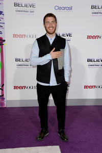 Mike Posner at the World premiere of