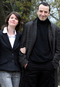 Irene Jacob and Bruno Todeschini at the photocall of