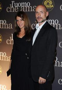 Valeria Pintore and Gian Marco Tognazzi at the L'Uomo Che Ama Party during the 3rd Rome International Film Festival.