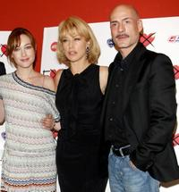 Cristiana Capotondi, Nancy Brilli and Gian Marco Tognazzi at the photocall of