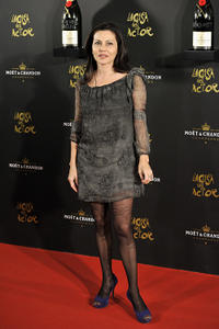 Fabiola Toledo at the Moet Chandon Charity Auction in Spain.