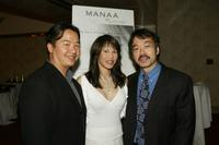 Ken Kwok, Lauren Tom and Guy Aoki at the 10th Anniversary Awards Gala for MANAA.