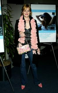 Nicholle Tom at the premiere of
