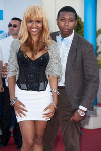 Tashiana Washington and Ty Hickson at the closing ceremony of the 38th Deauville American Film Festival.