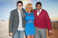 Director Adam Leon, Tashiana Washington and Ty Hickson at the photocall of