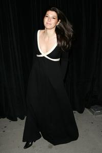 Marisa Tomei at the opening night of ''The Year Of Magical Thinking''.