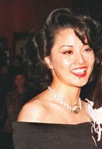 Tamlyn Tomita at the premiere of