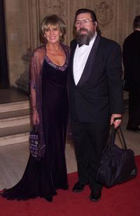 Ricky Tomlinson and Guest at the National Television Awards.
