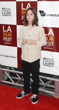 Michael Hall D'Addario at the California premiere of