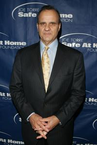 Joe Torre at the Safe at Home Foundation Annual Gala.