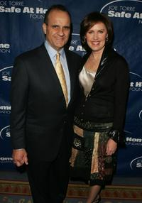 Joe Torre and his wife Ali Torre at the Safe at Home Foundation Annual Gala.