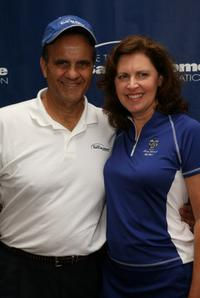 Joe Torre and Ali Torre at the 2008 Joe Torre Safe At Home Foundation Golf Classic.