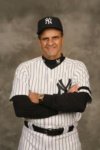 Joe Torre at the New York Yankees Photo Day.