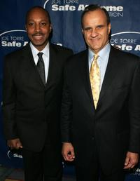 Willie Randolph and Joe Torre at the Joe Torre Safe at Home Foundation third Annual Gala.