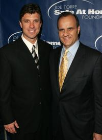 Tino Martinez and Joe Torre at the Joe Torre Safe at Home Foundation third Annual Gala.
