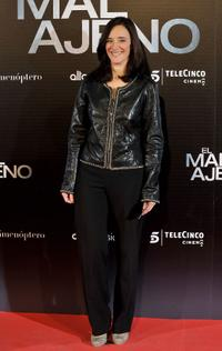 Ana Torrent at the premiere of