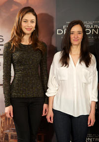 Olga Kurylenko and Ana Torrent at the photocall of