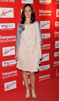 Ana Torrent at the Fotogramas Magazine Awards.