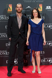 Alfonso Bassave and Ana Torrent at the Spain premiere of