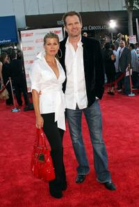 Beth Toussaint and her husband Jack Coleman at the world premiere of