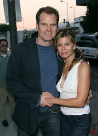Jack Coleman and Beth Toussaint at the premiere of