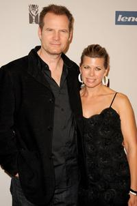 Jack Coleman and Beth Toussaint at the Hollywood Entertainment Museum's Hollywood Legacy Awards.