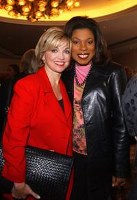 Carole Black and Lorraine Toussaint at the unveiling of the Hollywood Reporter's 10th Annual Women In Entertainment Power 100.