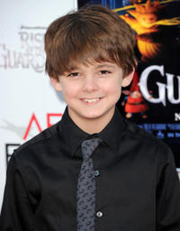 Max Charles at the premiere of