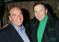 Steve Solomon and Fred Travalena at the opening night of Steve Solomon's