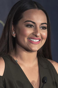 Sonakshi Sinha at the 17th International Indian Film Academy awards press conference in Madrid.
