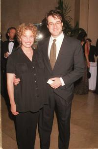Nancy Travis and Rob Fried at the Simon Wiesenthal Center's Humanitarian Award dinner.