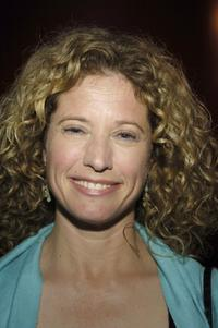 Nancy Travis at the after party for the premiere of David Mamet's play