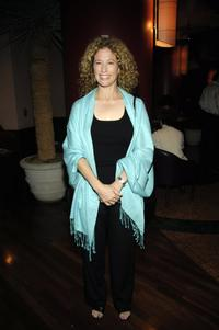 Nancy Travis at the after party for the premiere of Pulitzer Prize-winning David Mamet's play