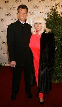 Randy Travis and wife at the 38th Annual CMA Awards.