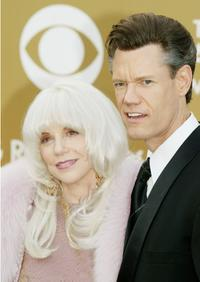 Elizabeth and Randy Travis at the 46th Annual Grammy Awards.