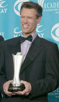 Randy Travis at the 39th Annual Country Music Awards.
