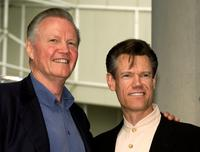 Jon Voight and Randy Travis at the Hollywood Walk of Fame.