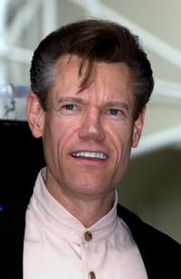Randy Travis at the Hollywood Walk of Fame.