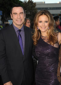 John Travolta and Kelly Preston at the California premiere of