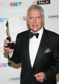 Alex Trebek at the Canada's Walk Of Fame Gala.