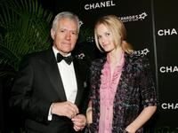 Alex Trebek and Rachel Blanchard at the Canada's Walk Of Fame Gala.