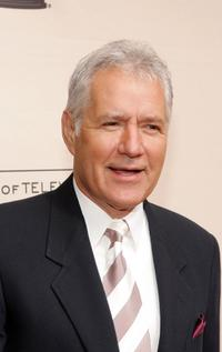 Alex Trebek at the 33rd Annual Daytime Creative Arts Emmy Awards.