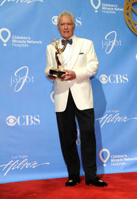 Alex Trebek at the 38th Annual Daytime Entertainment Emmy Awards in Las Vegas.