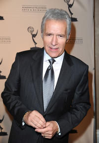 Alex Trebek at the 19th Annual Hall Of Fame Induction in California.